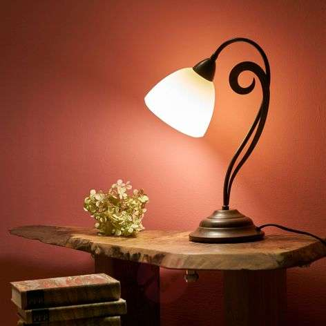 Beautiful country house style table lamp Luca