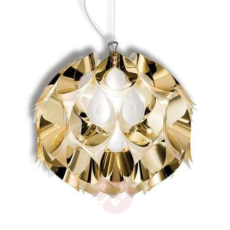 Beautiful Flora hanging light in gold, 36 cm