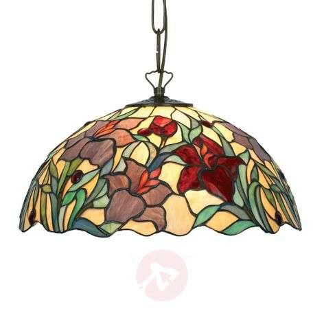 Beautiful hanging light Athina, Tiffany-style-1032136X-31