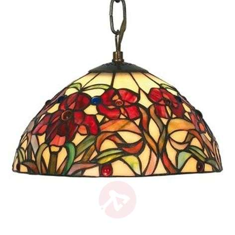 Beautiful hanging light Eline in Tiffany style-1032168-31