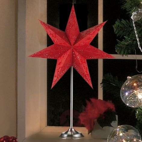 Beautiful star Aratorp as table light, 45 x 64 cm