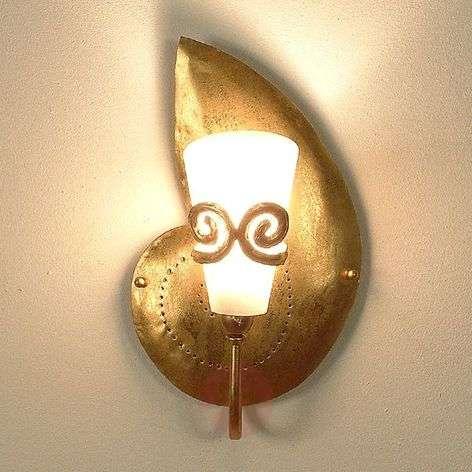 Beautiful wall lamp RIFUGIO SCHNECKE gold