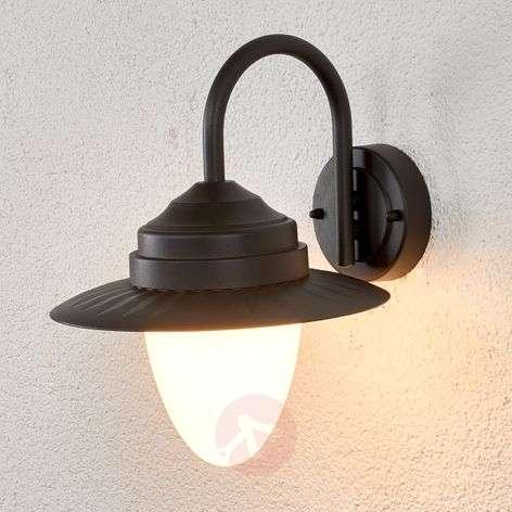 Beeke - LED outdoor wall lamp in dark grey