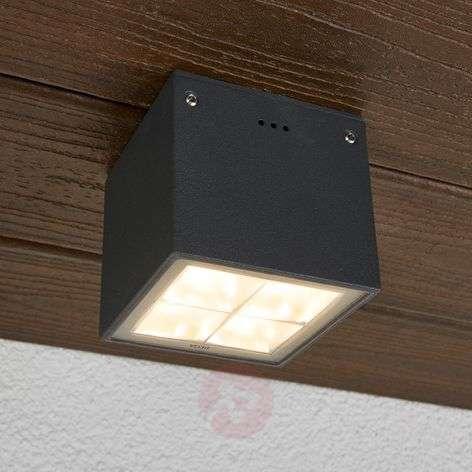Bega - angular LED ceiling light Gunnar IP65