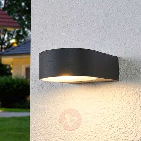 Bega - effective LED outdoor wall lamp Gero