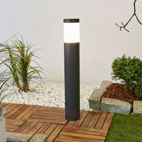 Bega graphite-coloured LED path light Gernot 360degree-1566028-31