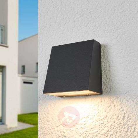 Bega - narrow LED outdoor wall lamp Dennis