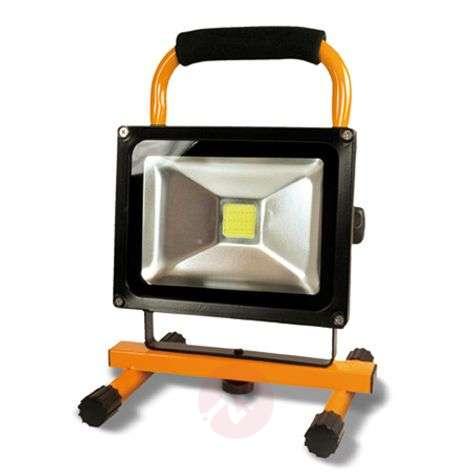 Benno LED battery construction spotlight, 20 W