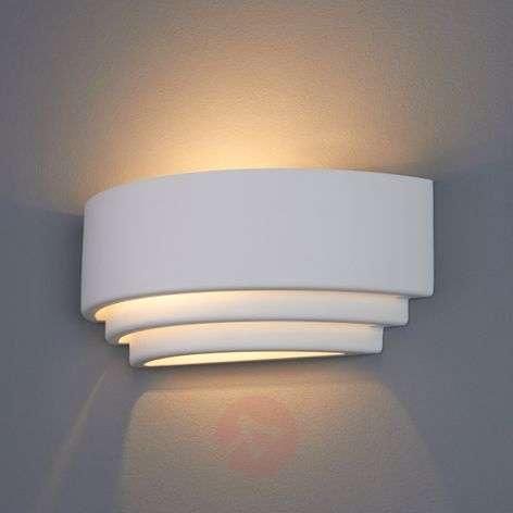 Biana Wall Light Semi-Circular Plaster-9613023-31