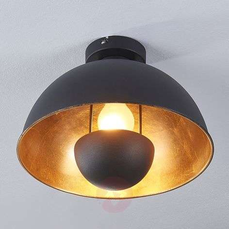 Black and gold ceiling light Lya