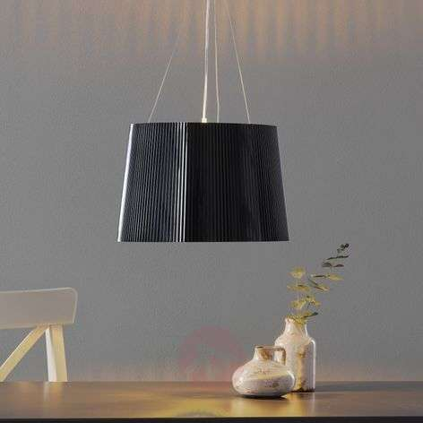 Black and gold LED pendant light Gè