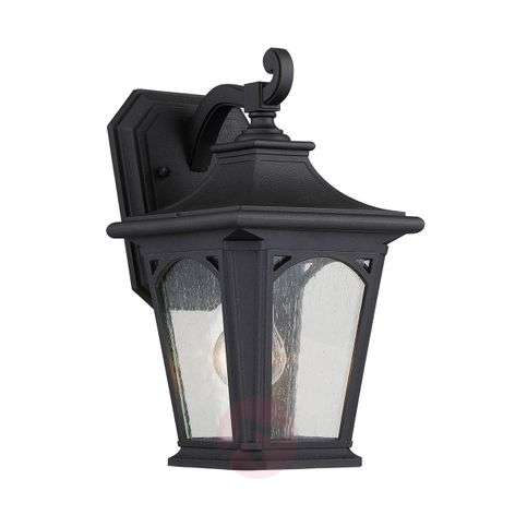 Black Bedford small outdoor wall lamp-3048830-31