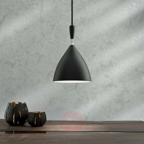 Black designer pendant light Dokka