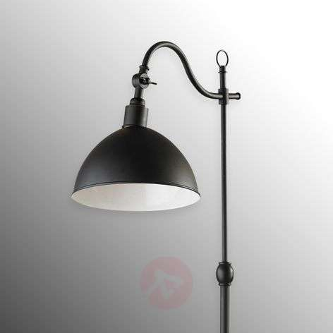 Black floor lamp Ekelund