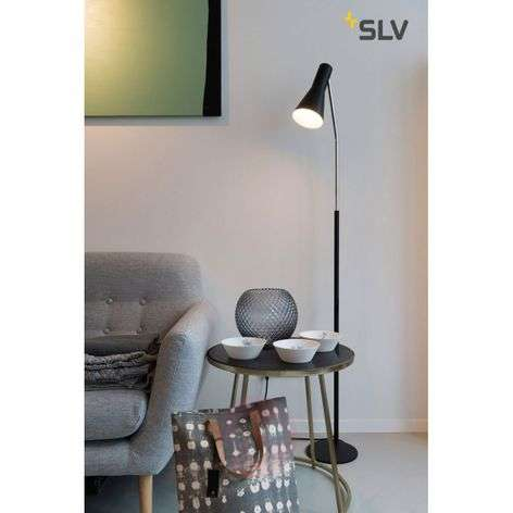 Black floor lamp Phelia