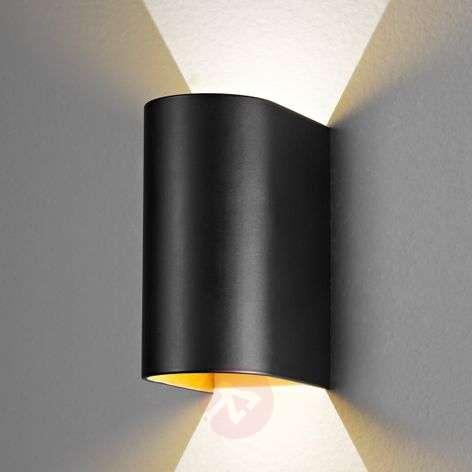 Black-gold Feeling LED wall light