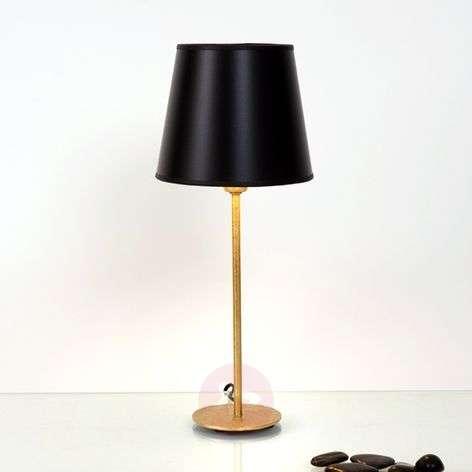 Black-golden table lamp Mattia