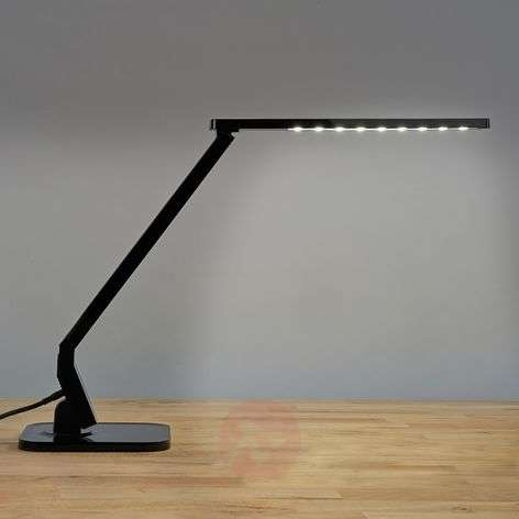 Black LED desk lamp Eleni
