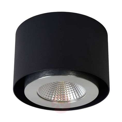 Black LED downlight Radus