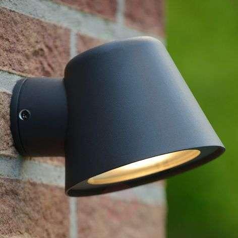 Black LED outdoor wall light Dingo, GU10-6055251-31