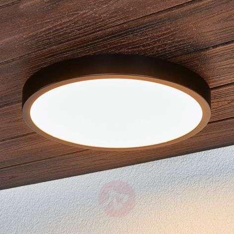 Black Liyan LED ceiling light, IP54-9945195-31