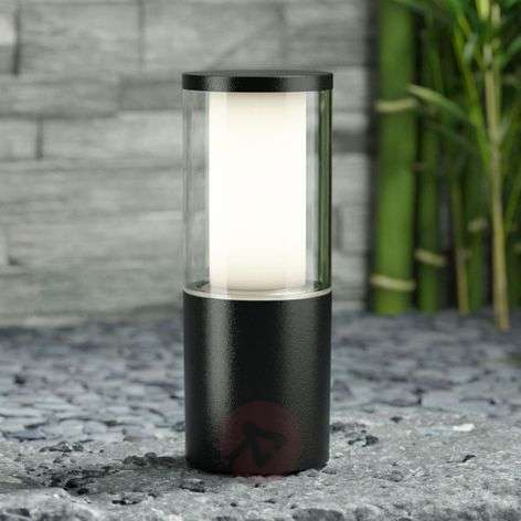 Black pillar light Carlo