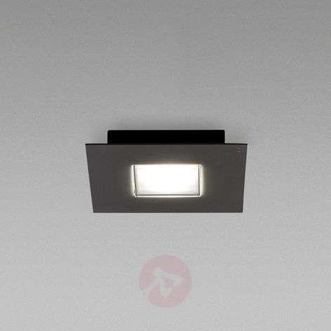 Black Quarter LED ceiling lamp