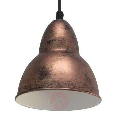 Bojan Vintage-Style Pendant Lamp. Copper