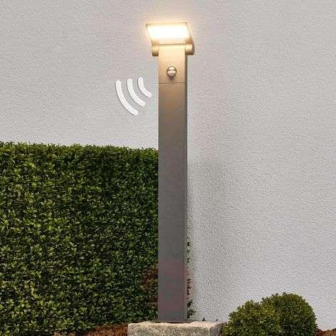 Bollard light Marius with motion detector, 80cm
