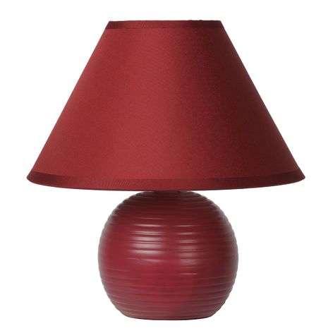 Bordeaux red Kaddy table lamp