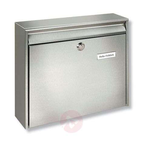 Borkum stainless steel letter box-1532041-31