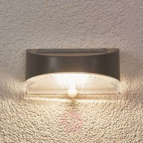 Bread solar exterior wall light with LED-3006321-33