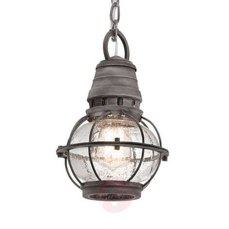 Bridge Point hanging light - industrial style
