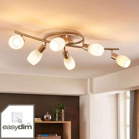 Bright LED ceiling light Arda, Easydim