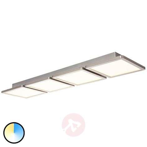 Brilliant WiZ Scope LED ceiling light, 4-bulb