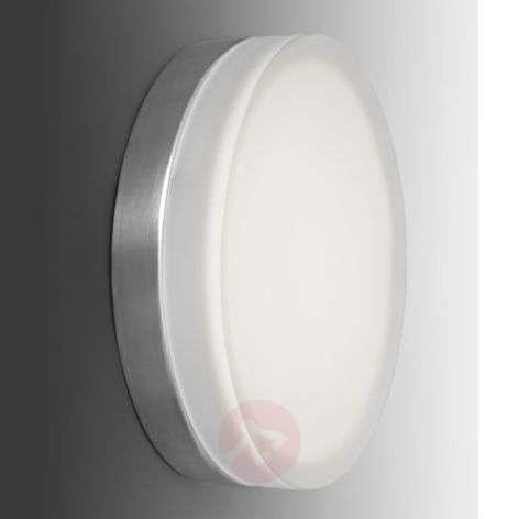 Briq 01 simple, round LED wall light