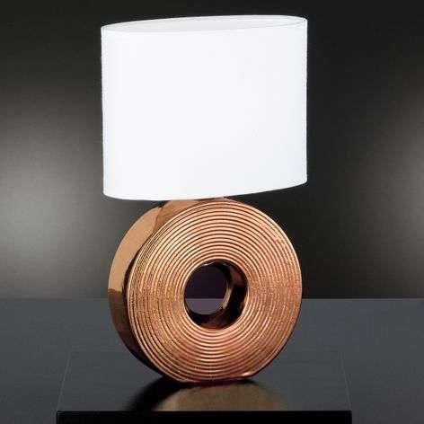 Bronze-coloured base - Eye table lamp 38 cm