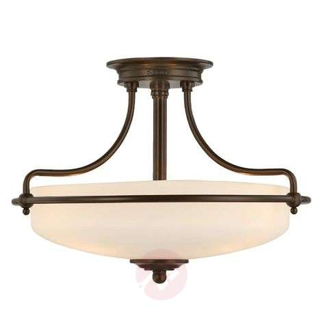 Bronze-coloured ceiling lamp Griffin