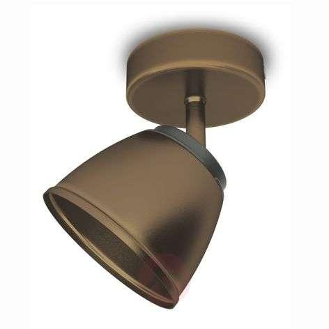 Bronze-coloured County LED spotlight