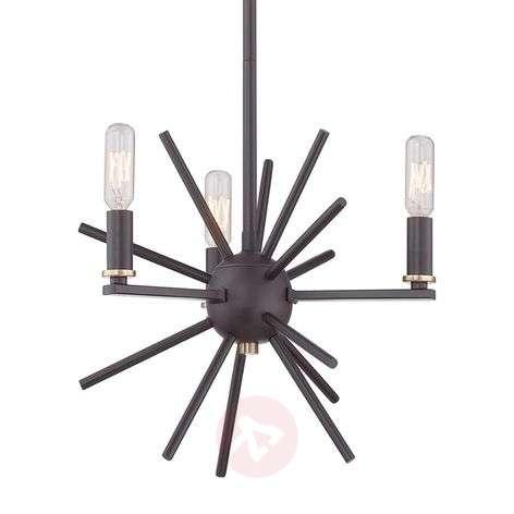 Bronze-coloured hanging light Carnegie-3048483-31
