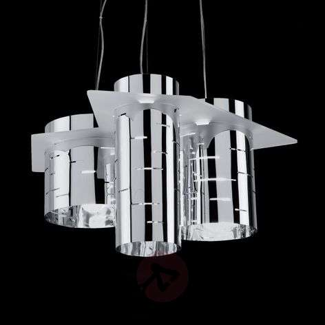 Brothers three-cylinder hanging light, chrome-1056029-31