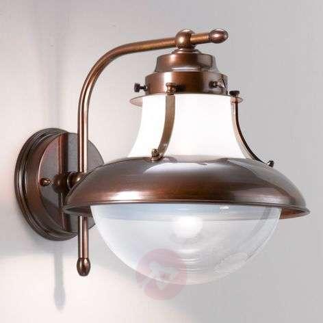 Brown Brezza outdoor wall light