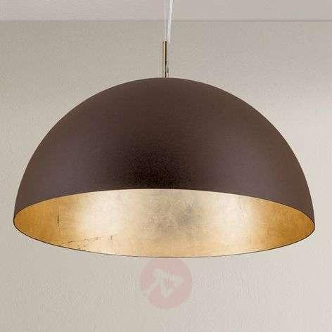 Brown-gold Nerry pendant light