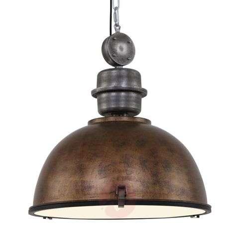 Brown hanging light Bikkel XXL, industrial design-8509750-31
