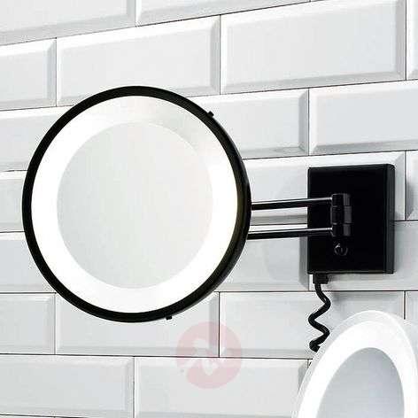 BS 25 elegant cosmetic mirror black