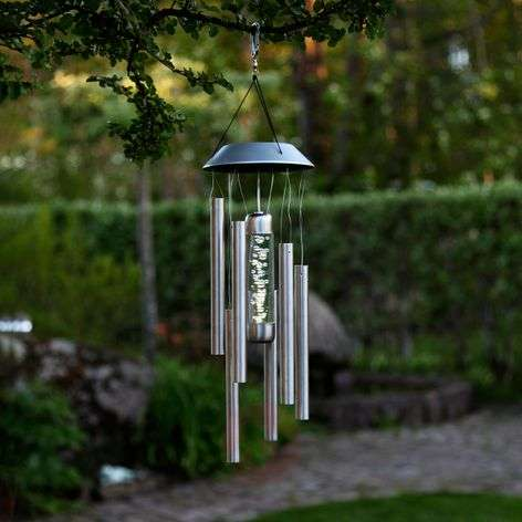 Bubbly - decorative wind chime with lighting