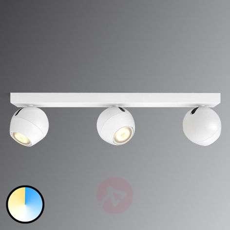 Buckram 3-bulb Philips Hue LED spotlight, dimmer