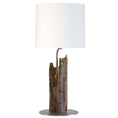 Buffet lamp Alter Kavalier with a fence post base