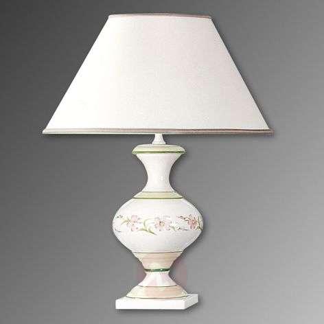 Buffet lamp Ambra with fabric lampshade