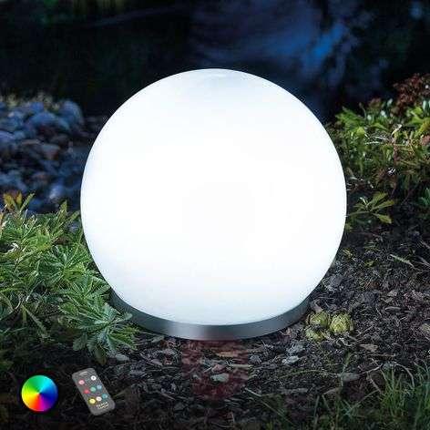 Buoyant RGB LED solar ball Float 25 remote control-3012560-31